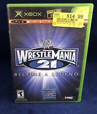 WWE WrestleMania 21 (Microsoft Xbox, 2005) Complete