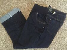 NWT Misses a.n.a. Maternity Jean Capri's, Under Belly