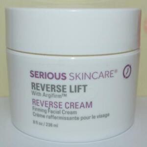 SERIOUS SKIN CARE Reverse Lift Firming Facial Cream 8 FL OZ JUMBO SIZE ~ SEALED