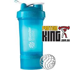 BLENDER BOTTLE PROSTAK 500ML CYAN PROTEIN SHAKER CUP BPA FREE PRO STAK 16 OZ