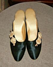 New listing Daniel Green Vintage Slippers/Mules Size 355 Black & Pink