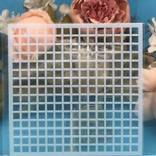70 x 70 mm MDG7134 idéal pour Grille d/'alimentation 50 Premium petit carré Carte Manches