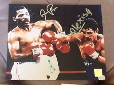 Aaron Pryor/Alexis Arguello Combo Signed 8x10 Boxing Photo -SSG HOLO AND COA