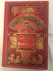 L'ETONNANTE AVENTURE DE LA MISSION BARSAC - 1919 - JULES VERNE HACHETTE - C