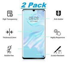 2x Huawei P30 Pro 3D Premium Schutzpanzer Glasfolie Display Glas Klar Curved
