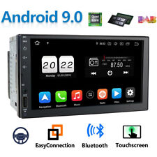 "[NEW] 2din 7"" Android 9.0 Car GPS Navigation Stereo Radio DAB+ TV NO DVD AUX SD"