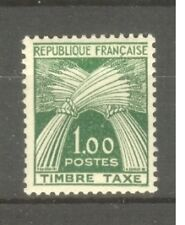 "FRANCE STAMP TIMBRE TAXE N° 94 "" GERBE 1F VERT 1960 "" NEUF xx TTB"