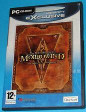 The Elder Scrolls 3 - Morrowind - PC