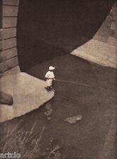 "Héliogravure - 1924 - ""A fishing boy"" - Torakichi Yamazaki"