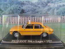 1/43 Altaya  Peugeot 504 Lagos  Taxi  1977