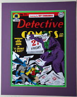 DETECTIVE COMICS #71 COVER PRINT Professionally Matted DC Joker