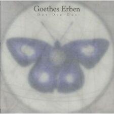 GOETHES ERBEN DER - DIE - DAS MAXI CD WIE NEU D2089