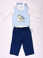 NWT baby boys size 12 months First Impressions blue dinosaur sweater shirts pant