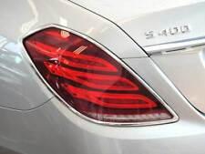 Mercedes W222 S Class Chrome tail lamp rear lamp surrounds Set