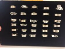 rings, mens, womens, stainless steel, inox, sizes from 17-21