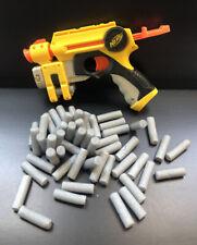 Nerf Nite Finder Blaster Pistol Laser Light Yellow W/ 35+ Bullets
