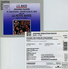 BACH  johannes-passion  LA PETITE BANDE , KUIJKEN / 2 CDs