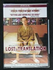 Lost in Translation (Dvd, 2004, Pan Scan) New Free Shipping Sealed