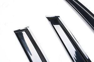 2009-2012 Mazda 3 BL Window Visors Weather Shields Rain Guards