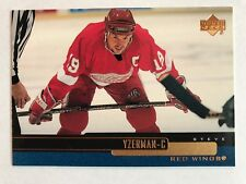 1999/00 Upper Deck Hockey Card #49 Steve Yzerman Detroit Red Wings NM/MT