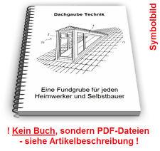 Dachgaube Dach Gaube selbst bauen - Dachgauben Technik Patente Patentschriften
