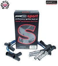 Powertec Sport 8mm Cable de conductores alambres Mercedes 190E Cosworth 2.3/2.5 16v