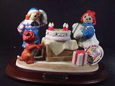 Flambro 1988 Raggedy Ann & Andy 70 Years Young Figurine & Base Ltd Ed