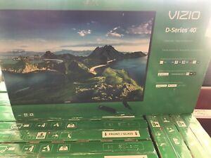 "VIZIO 40""inch Big 🚪Class NWT FHD LED Smart TV D-Series (3 Days UPS Shipping)🔥"