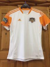 Houston Dynamo Mls-Home Camisa Para Chicos tamaño 13-14 jóvenes Adidas