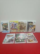 Wii Games Lot Of: 7 *Kirby's Dream Collection: Special Edition ++