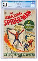 Amazing Spider-Man #1 1963 (CGC GD+ 2.5)