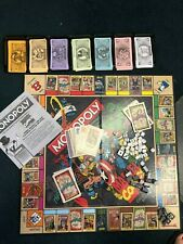 New! 2012 Monopoly Marvel Comics Collectors Edition Board Game