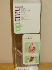 "HairDo JESSICA SIMPSON Salon Clip-In Hair Extension 10"" Straight BUTTERED TOAST"