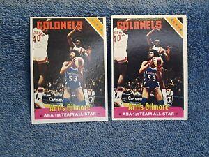 1975-76 Topps Artis Gilmore #250 lot of 2