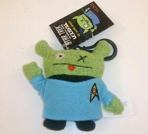 Star Trek Uglydoll Ox Mr. Spock Clip-On Backpack Plush