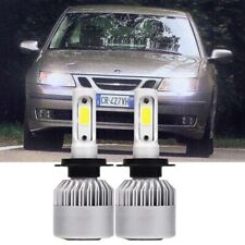 FITS SAAB SPORT CONVERTIBLE 2002-ON SET H7  501  XENON  SUPER WHITE LIGHT BULBS