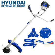 Hyundai 52cc Petrol Grass Trimmer 2 Stroke Garden Brush Cutter HYBC5200