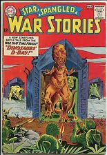 """Star Spangled War Stories #108  """"Dinosaurs D-Day!"""" - (Grade 4.5)WH"""
