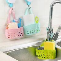 Kitchen Storage Sponge Sink Saddle Caddy Rack Holder Organizer Drain