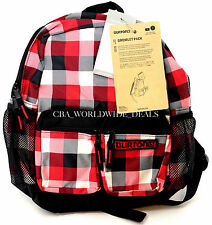 NEW Burton Youth Gromlet Pack Backpack - Buffalo Plaid - Red