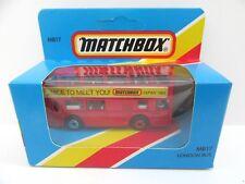 Matchbox Superfast 17c London Titan Bus 'Nice To Meet You - 1984' - Mint/Boxed