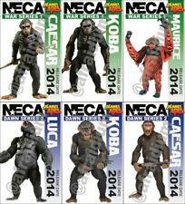 Planet of the Apes NECA Figurine Tribute Cards - Complete Set