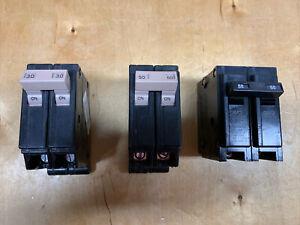 3 Circuit Breakers (1)30 Amp And (2) 20 Amp