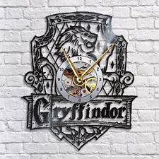 Griffindor Harry Potter Vinyl Record Wall Clock