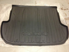 2009 - 2013 Subaru Forester Rear Cargo Tray / Liner / Mat Dark Gray Genuine OEM