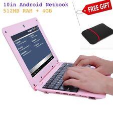 [Gift Set]DWO netbook 10.1 pulgadas Android 4.4 WiFi VIA8880 512MB RAM +4G  Rosa