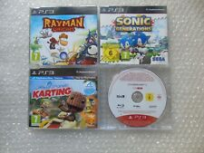 PS3 Rayman Origins,Sonic Generations PS3,Little Big Planet Karting Promo tional