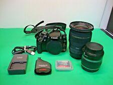 Canon DS126151 EOS Digital Rebel XTi DLSR Camera w/ Lenses & Accessories