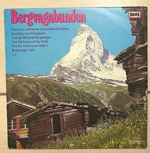 """""""Bergvagabunden"""" - LP von EUROPA - E473 - sehr guter Zustand! Ohne Kratzer!"""