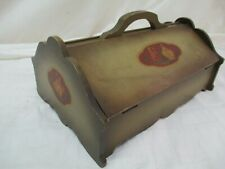 Antique Silverware Flatware Wood Box Victorian Storage by Community Plate (Ar)